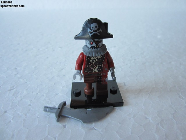 Lego Minifigures S14 Pirate Zombie