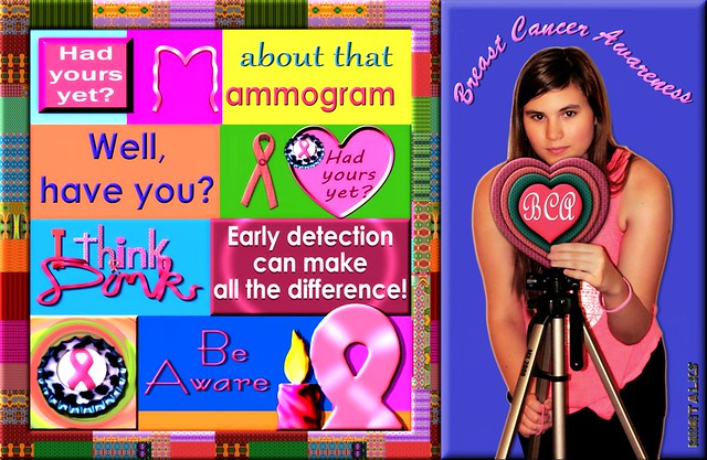 Are you aware of Breast Cancer? Thinking Pink? Just asking...again
