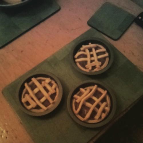 Tiny apple tartlets!
