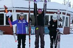 Velký úspěch běžců v Gällivare: 2x stupně vítězů!