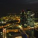 Skyline At Night...Singapore by Selva Rangam