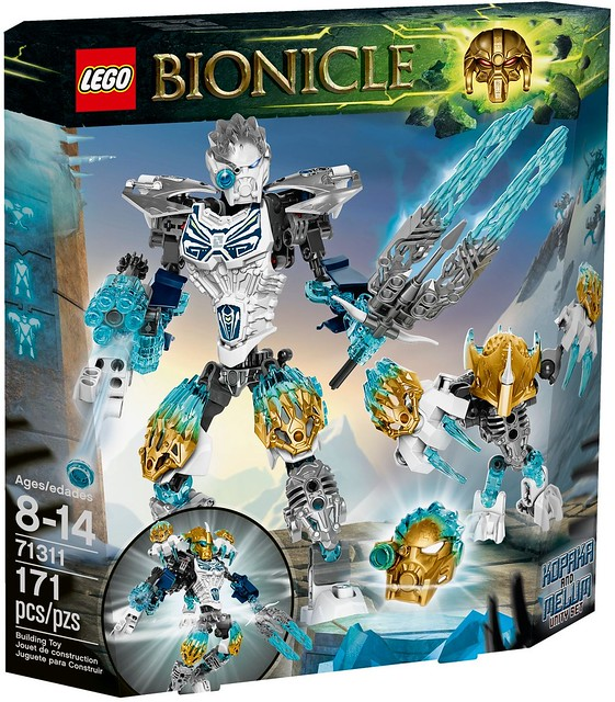 LEGO Bionicle 2016 | 71311 - Kopaka and Melum (Unity set)