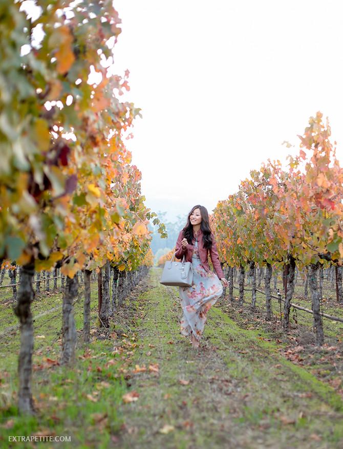 wine country wear maxi dress anthropologie petite jacket