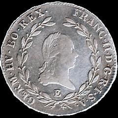 1804 Austrian Empire 20 Kreuzer obverse