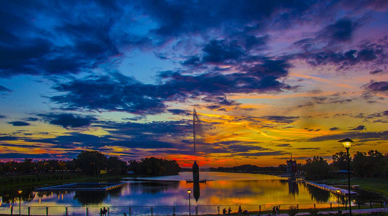 Ada Ciganlija Sunset