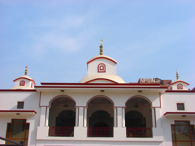 Three Shikhar with first floor of main temple