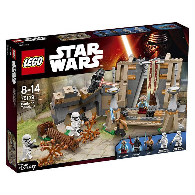 LEGO Star Wars The Force Awakens 75139 - Battle on Takodana