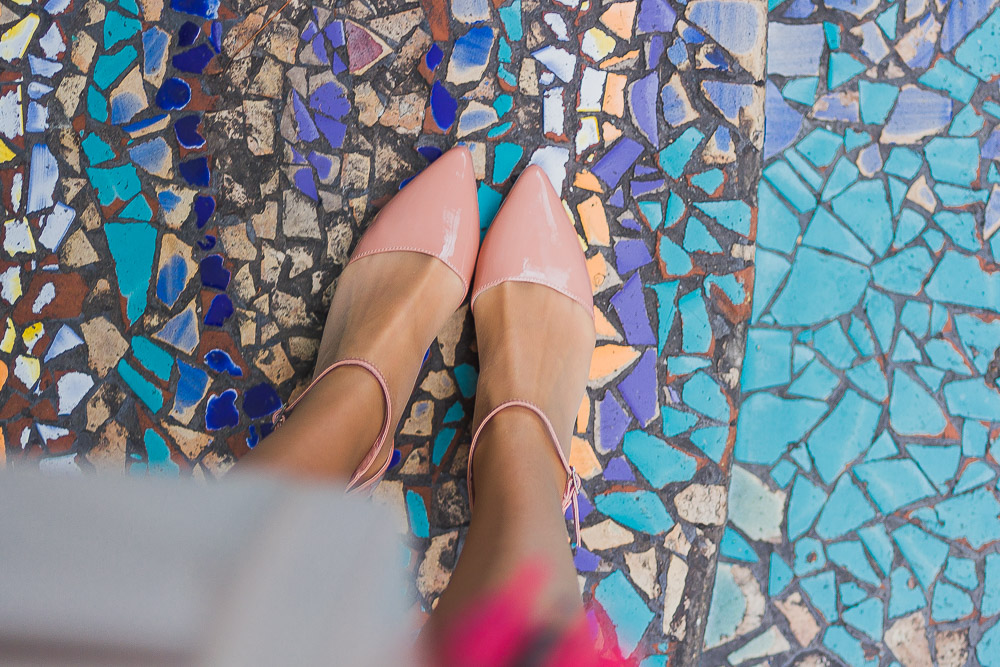 from where i stand nude pointed shoes