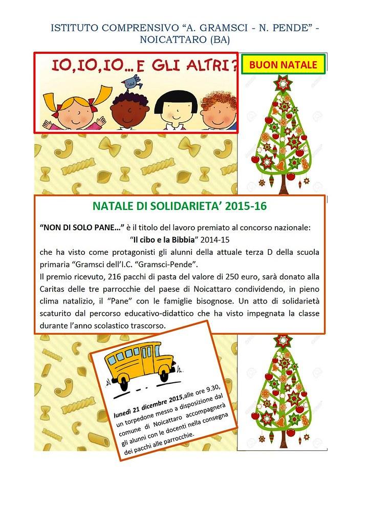 Noicattaro. Natale di Solidarietà Gramsci intero