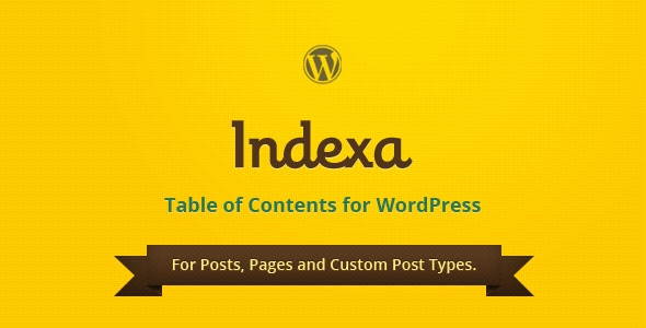 Codecanyon Indexa v1.0.3 – Table of Contents for WordPress