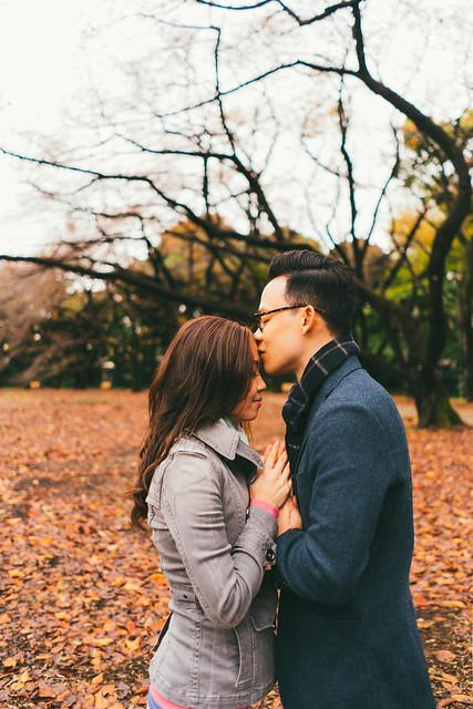 japan, pre wedding, kawauguchiko, narai juku, snow, autumn, shibuya, tokyo
