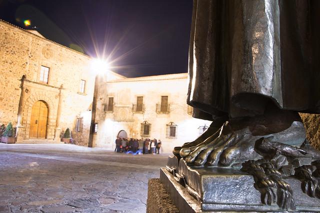 A los pies de San Pedro de Alcántara