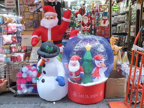 A karácsony-bazár
