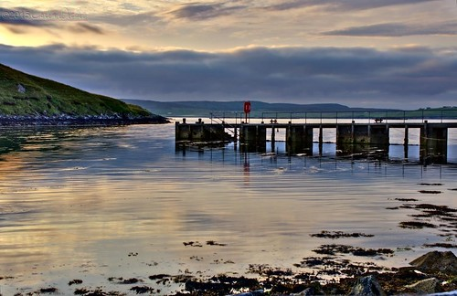 uk sunset scotland pier unitedkingdom shetland dickie nesting gbr bellister quoys colindickie dickieimaging