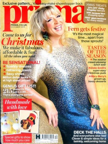 PRIMA Magazine - December 2015 - Cover