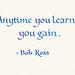 Small photo of Quotation - Bob Ross