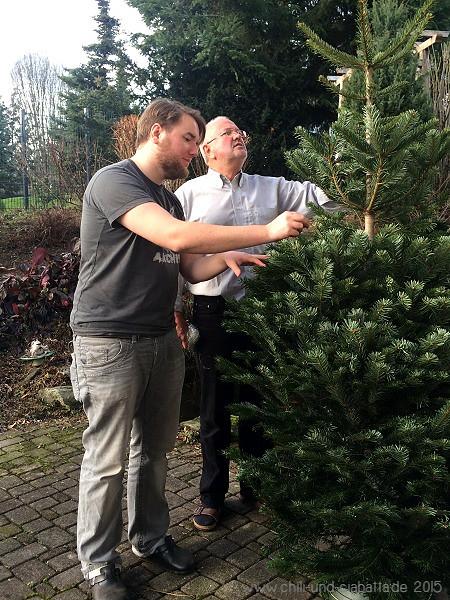 Weihnachtsbaum auspacken