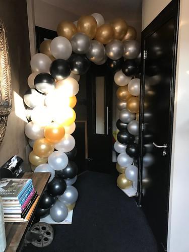 Ballonboog 5m Hotel Mauritz Willemstad