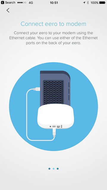 eero iOS App - Setup - #3