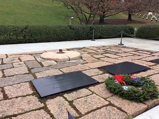Image of John F. Kennedy. december 2016 arlingtonnationalcemetery