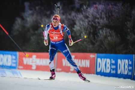 Výborný běh, bezchybná střelba. Koukalová ovládla v Oberhofu sprint