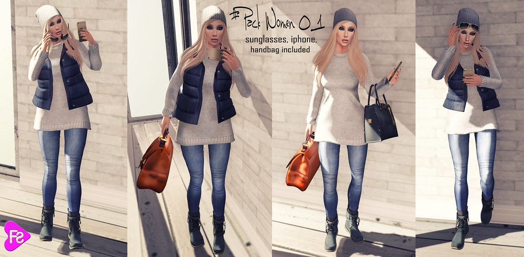 [Frimon Store] #Pack Women 01 - HUD - SecondLifeHub.com