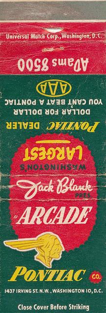 Arcade Pontiac (1951)