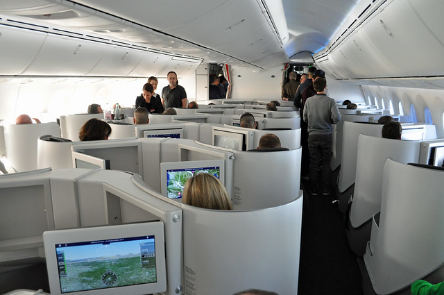 F-HRBA AF789  BUSINESS CLASS