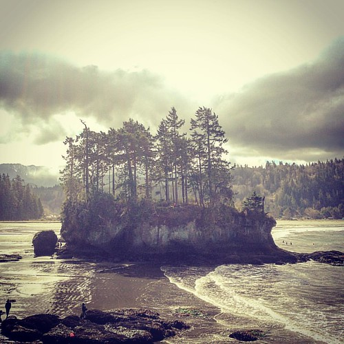 I LOVE the Pacific Northwest...Just outside Olympic National Park... #nickschnebelenband #tourlife