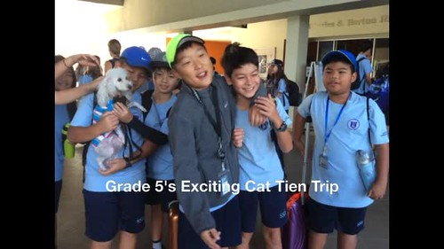G5's Exciting Cat Tien Trip