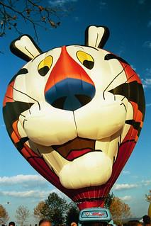 'Tony the Tiger' Hot-Air Balloon (Millwood, VA) Fall 2001