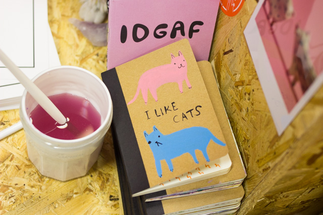 Brighton based Etsy seller workshop Toby I Like cats