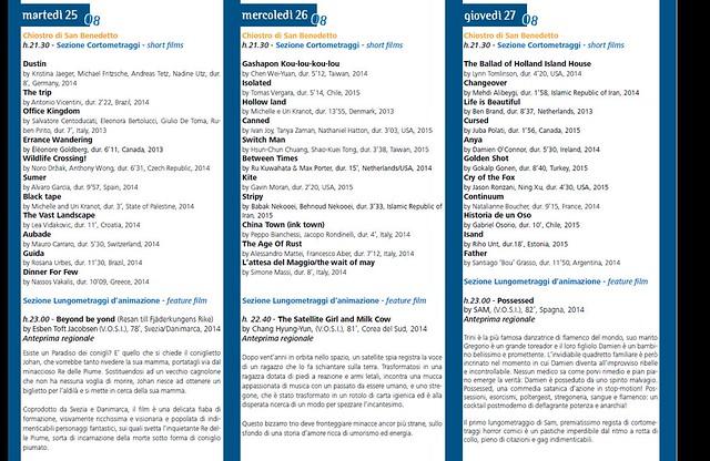 Conversano- Programma imaginaria film festival 2