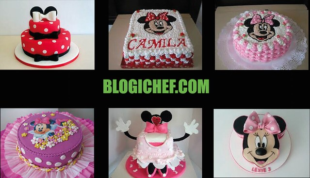 Ideas y Diseños de Tortas de Minnie Mouse