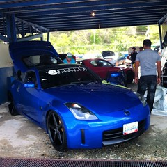 automobile, automotive exterior, wheel, vehicle, automotive design, nissan 350z, bumper, land vehicle, coupã©, supercar, sports car,