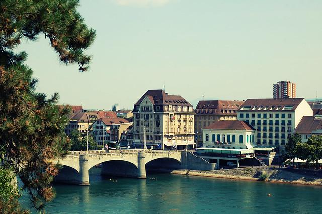 Mittlere Rheinbrücke, Basel, CH