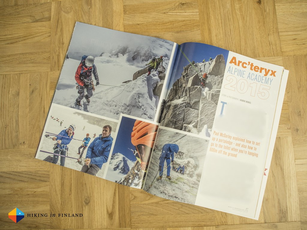 Arc'teryx Alpine Academy 2015