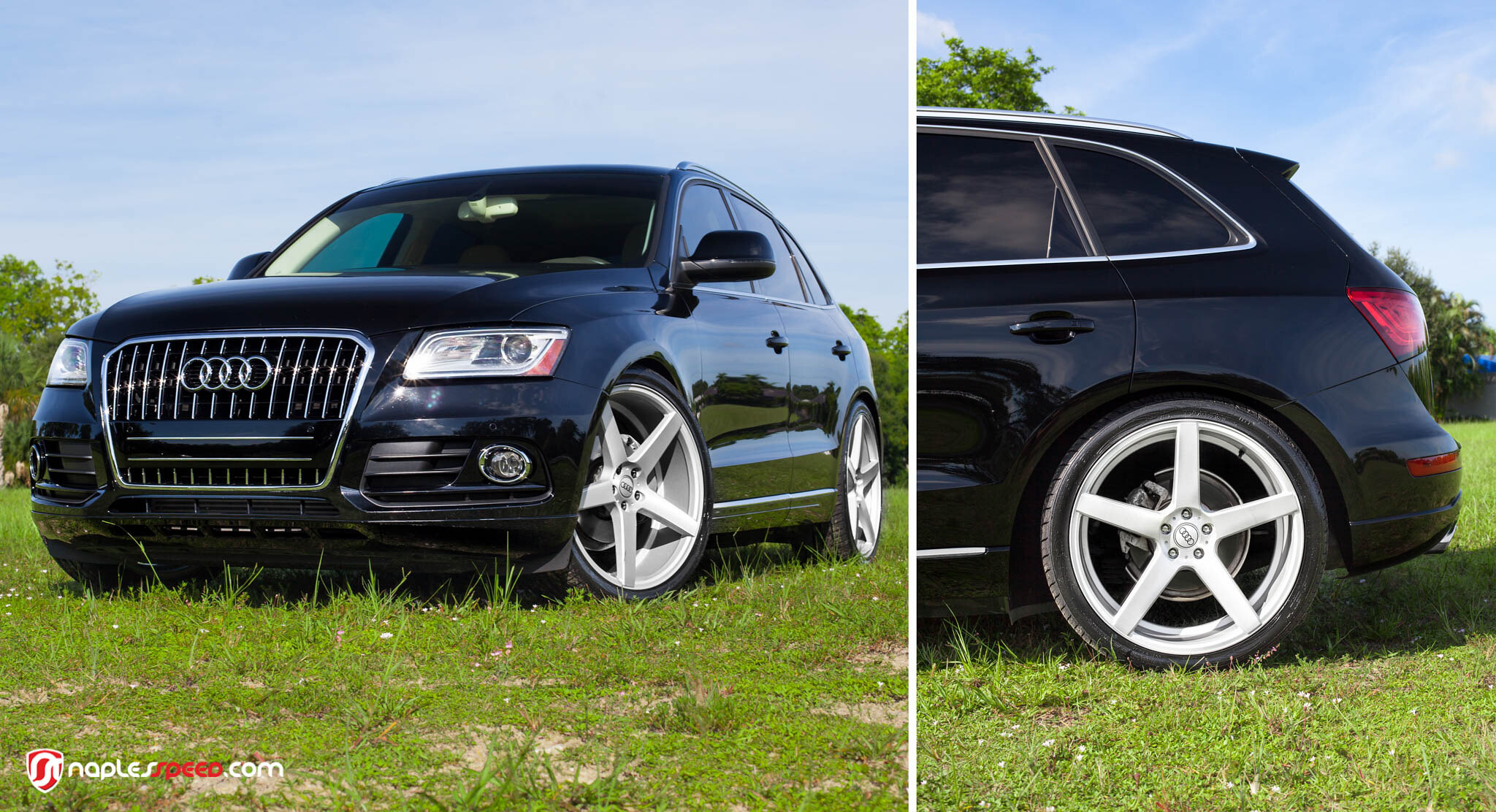 Audi Q5 on XO Luxury Miami Wheels by Naples Speed