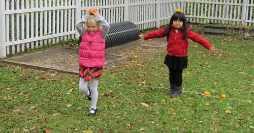 pumpkin balancing