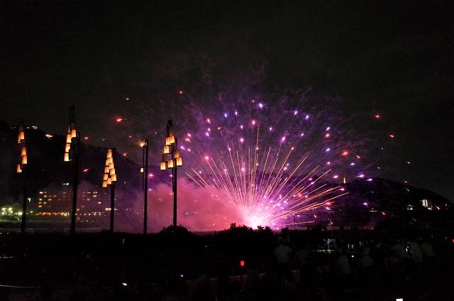 2015年 手力の火祭・夏
