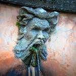 Fontana, particolare