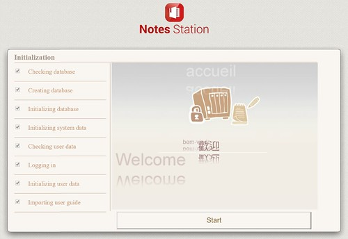 QNAP Note Station