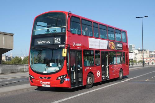 Arriva London North DW330 LJ60AXO