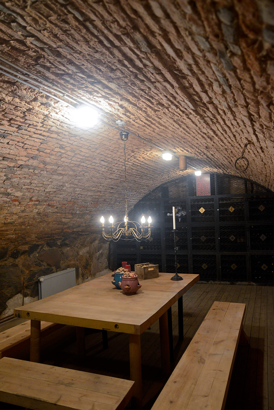 Wine cellar at  Lapland Hotels Oulu