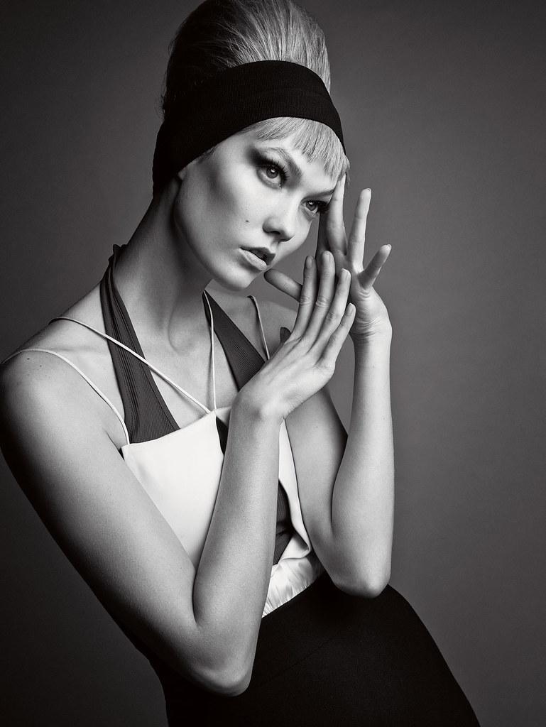 Карли Клосс — Фотосессия для «Vogue» UK 2015 – 3