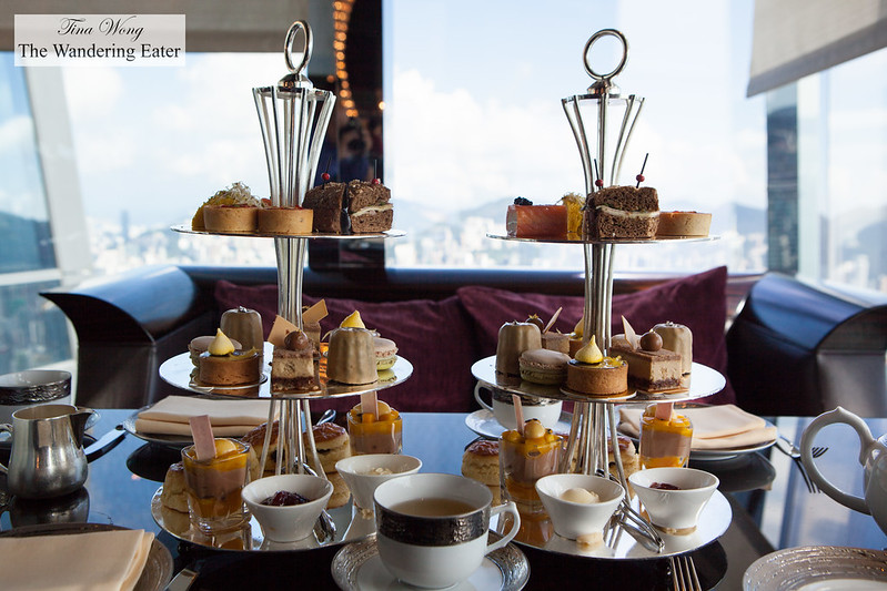 Our tiers of afternoon tea bites