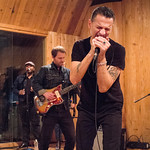 Thu, 22/10/2015 - 5:06pm - Dave Gahan teams up with Rich Machin and Ian Glover with an audience of WFUV Members at MSR Studios in New York City. October 21, 2015. Hosted by Russ Borris. Photo by Gus Philippas/WFUV