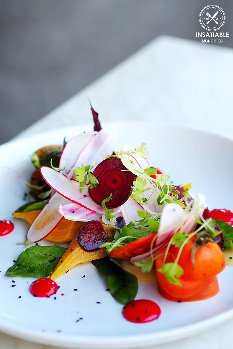 Sydney Food Blog Review of Danno's, Dee Why: Heirloom Tomato and Beetroot Salad
