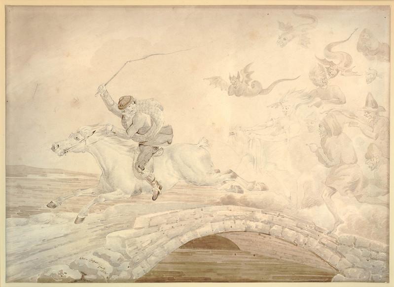 Edwin Cooper - Illustration from Tam O'Shanter, 1823