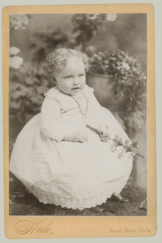 Cabinet Card Small Child